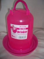 Pink 3 Litre Chicken Drinker