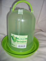 Green 3 Litre Chicken Drinker